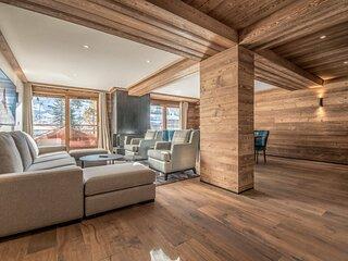 Appartement skis aux pieds - Le Yeti- Rond point des pistes