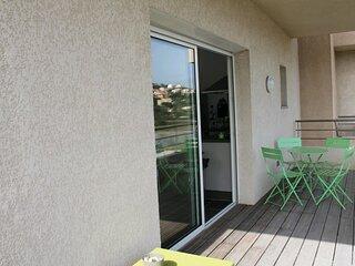 PORTICCIO - Tres bel appartement face a la plage d'Agosta F2-A PIAGHJA