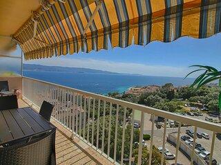 Tres bel appartement face a la mer F2-1 Belvedere Ajaccio