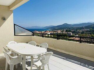 L'ILE ROUSSE- Charmant appartement vue mer et montagne - F3 KIF 2