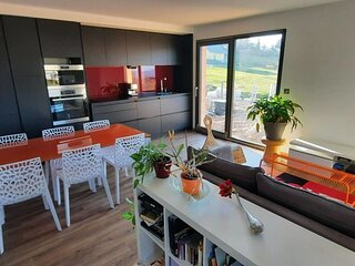Nice apartment with mountain view