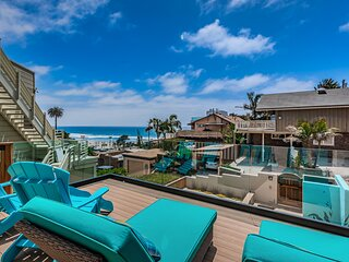 Encinitas Beach House with Ocean Views and Backyard Oasis!