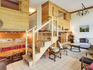 Bel appartement 5 pieces en duplex 10 personnes situe sur Meribel centre