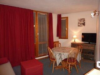 Location Appartement Valfréjus, 3 pièces, 4 personnes