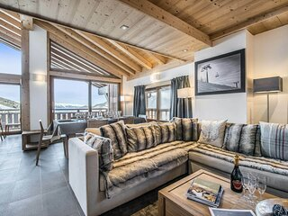 Magnifique appartement avec grand sejour et grandes chambres