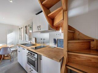 Appartement cozy avec vue imprenable sur la vallee