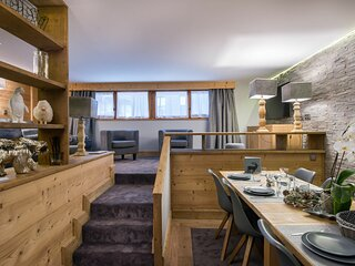 Appartement d'environ 80m² pour 6 personnes avec 3 chambres.