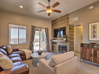NEW! Pristine Tucson Escape w/ Backyard & Mtn View