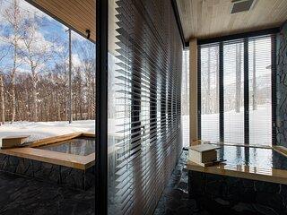 Hanaridge Luxury 5Bdrm Natural Onsen Residence