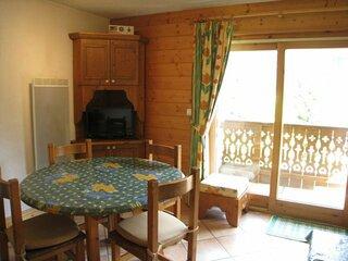 Appartement 2 pièces cabine pour 5 personnes avec accès direct aux pistes de ski