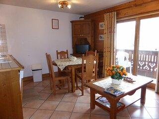 Appartement 2 pièces cabine pour 6 personnes situé à proximité des télécabines