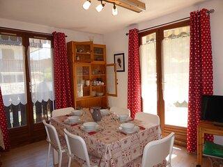 Appartement 3 pièces pour 6 personnes avec vue sur le Mont-Blanc