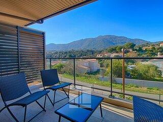 AJACCIO ALATA- bel appartement vue montagne A NEPITA 12