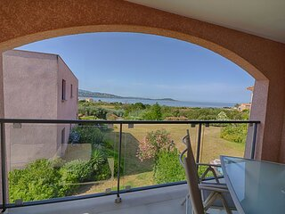 PORTICCIO- Tres bel appartement proche des plages F3-MAS DU SOLEIL