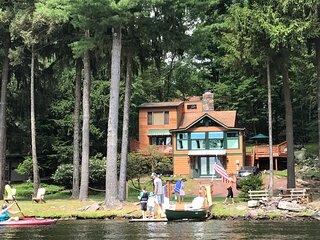 Lakefront Retreat: Location Location Location Relax, Fish, Swim, kayak!!