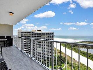 Remarkable beachfront condo w/ breathtaking views, heated pool & tennis