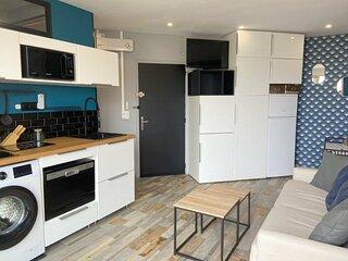 Tres bel appartement vue mer et acces direct plage -  Parking 5SAR340
