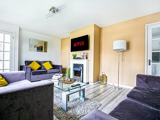 Central Leamington Spa 3-Bed House-Free Netflix