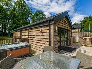 Squirrel Lodge 42 with Hot Tub in Newton Stewart, Dumfries & Galloway