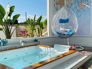 Suite con vasca idromassaggio 'CORALLO'- Villa La Perla Sul Mare