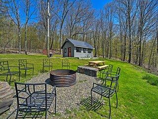 NEW! Hillside Retreat: BBQ, Fire Pit, Trails, Etc!