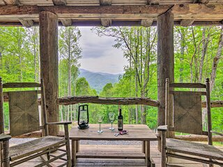 NEW! Rustic Cabin w/ Porch on 39 Acres: Ski & Hike