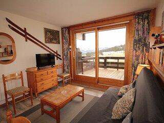 Studio cabine avec grande terrasse
