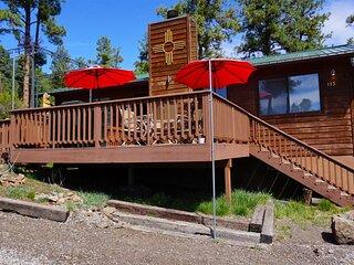 Hilltop Cabin  Hilltop Cabin - Cozy Cabins Real Estate, LLC.