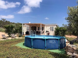 Bungalow Tivissa: in the middle of nature, with great views and private pool