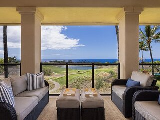 Ocean-View Resort Escape with AC   2 Beaches, Pools, Hot Tubs, Golf & Tennis