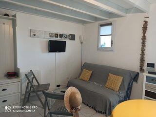 Appartement cosy face à la mer près de St Gilles Croix de Vie