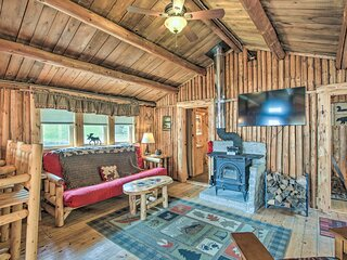 NEW! Charming Lakeside Cabin w/ Deck & Shared Dock
