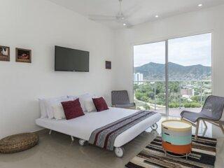 Apartamento Vacacional con Piscina en Santa Marta