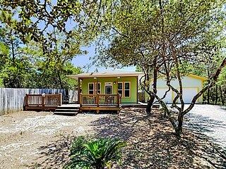 Hidden Gem | Tropical Bungalow with Decks & Yard | 2 Blocks to Beach