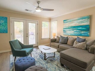Centrally Located Townhome With Community Pool & Dock, Fenced Outdoor Spaces and