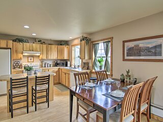 NEW! Airy Emigrant Townhome w/ Sweeping Mtn Views!