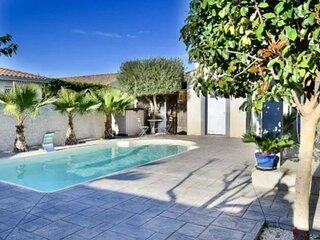 Villa piscine de la garrigue