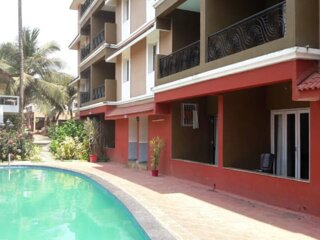 2 Bed Room house +Private Terrace , Calangute (B7)