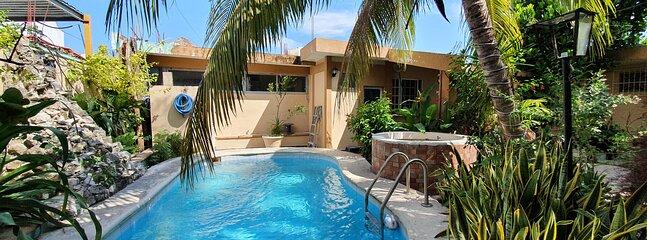 Villas Velarde - Pool - Parking - Best Location!, holiday rental in Cozumel