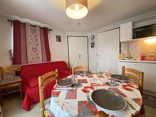 Appartement deux pieces cabine a Praz-sur-Arly