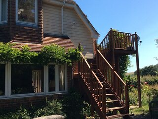 A charming self contained self catering B&B on the South Downs