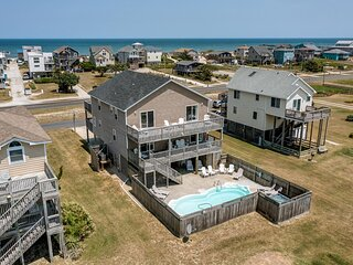 Three Little Birds | 490 ft from the beach | Private Pool, Hot Tub | Nags Head
