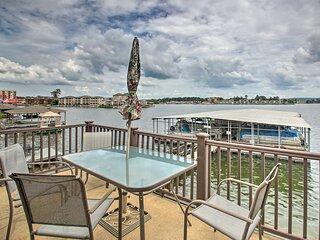 NEW! Lake Hamilton Retreat w/ Pool & Dock Access!