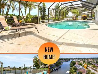 25% OFF! SWFL Rentals - Villa Lilly - Electric Heated Pool Home w/Gulf Access in