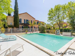 Amazing 4 bedroom house with pool and AC - Dodo et Tartine