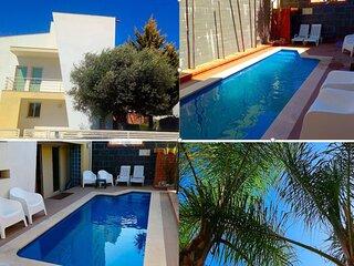 Sesimbra Charming Lux Villa BBK Pool & Lush Garden