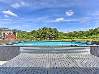 NEW! Home w/ Pool Deck, by Minewaska State Park!