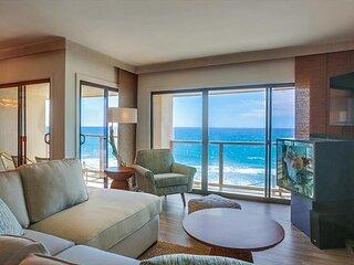 Gorgeous Patio Ocean Front, Pool & Spa, Family Friendly