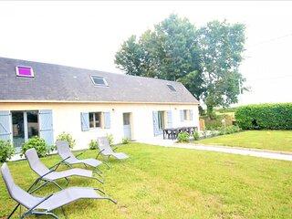 Location Gîte Saint-Jouin-Bruneval, 5 pièces, 8 personnes