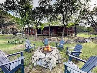 Hill Country Home with Private-Entrance Studio | Creek, Swimming, 25 Acres
